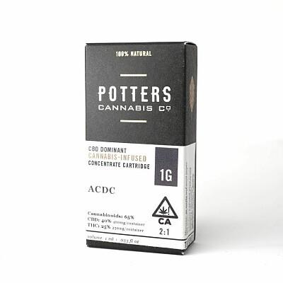 Potter Cannabis Cartridge 1