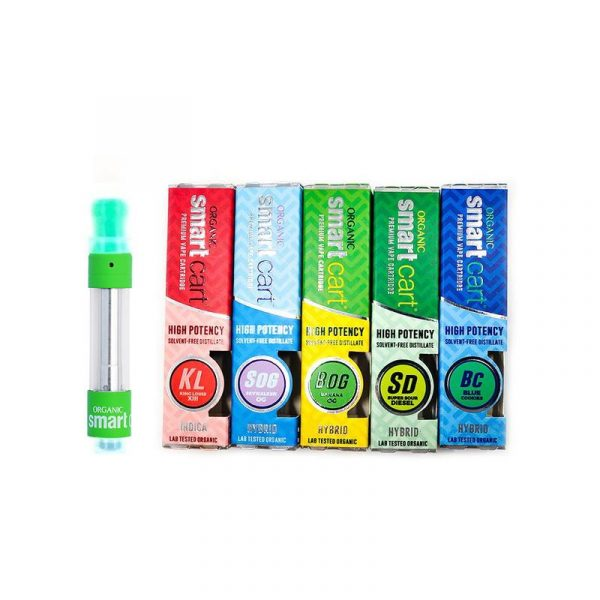 newest smart cart cartridge 1 0ml 1 gram